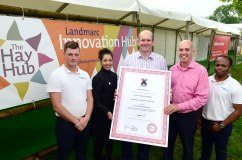 Landmarc and X-Forces help ex-service personnel into business