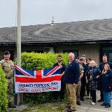 Landmarc flies the flag to mark the start of Armed Forces Week