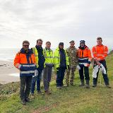 Over 350 bags of rubbish collected at Tregantle Beach
