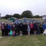 Raising awareness of beach safety at Donna Nook