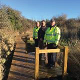 Upgrades to footpaths improve experience for coastal walkers