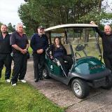 A hole in one for Jennifer's Journey at Landmarc fundraising event