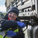 Margaret McQuinney, Site Operative in Kirkcudbright takes pride in helping our Armed Forces