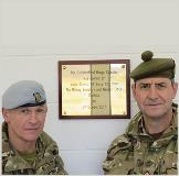 Top of the range military training facility opened at Garelochhead