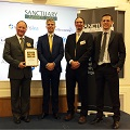 Landmarc recognised in prestigious Ministry of Defence Sanctuary Awards
