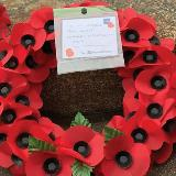 'Roses' Remembered at Swynnerton Training Camp's  Armistice Service