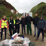 Landmarc helps to clean up the Cornish coast