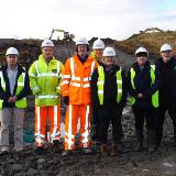 Breaking ground on new ranges at Garelochhead