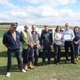 Wiltshire Wildlife Trust awards Landmarc for protecting scheduled ancient monuments